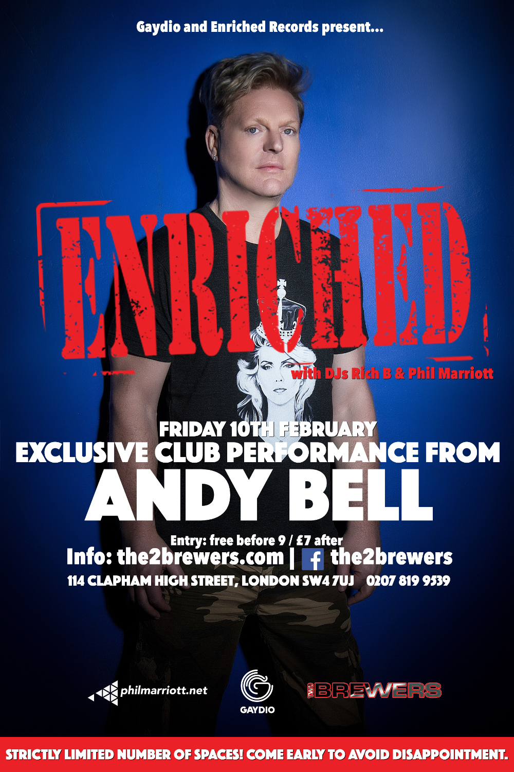 ANDY BELL - Enriched Club PA (2017)