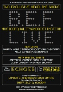BEF - Music of Quality & Distinction Live