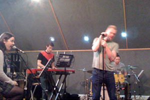 Andy Bell - Our Friends Acoustic Rehearsal